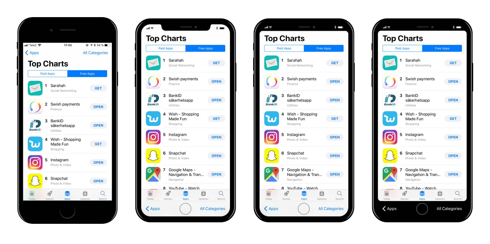 Image of iPhone 8 UI concept by Max Rudberg.