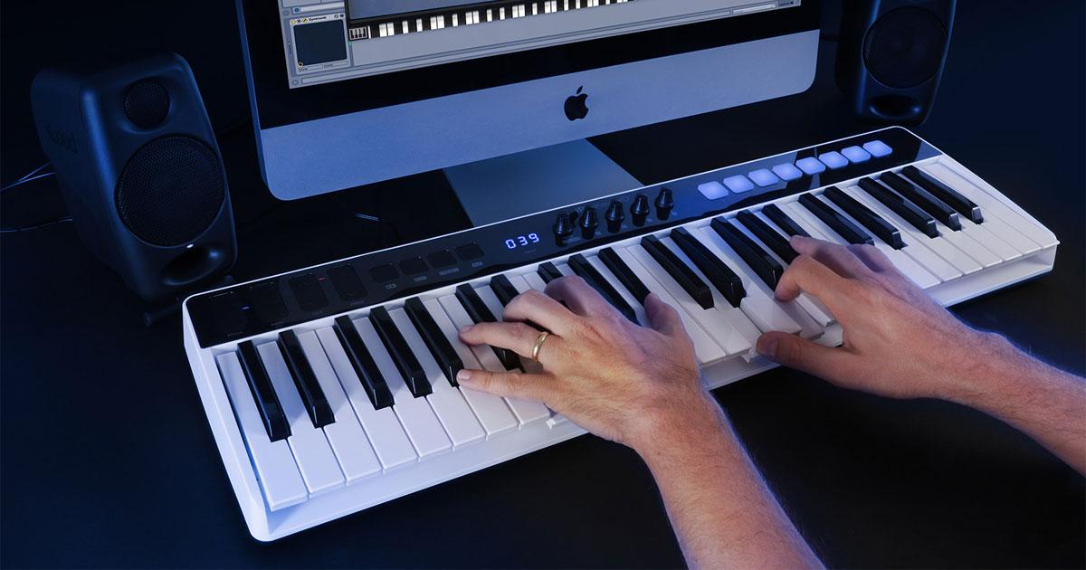 IK Multimedia's iRig Keys I/O: a Keyboard MIDI Controller with Built-In Audio Interface