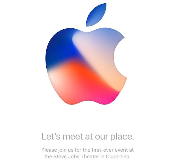 """Let's meet at our place"" Apple Media Event Invites"