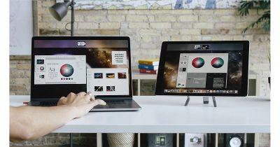 AstroPad HQ Luna Display with MacBook Pro