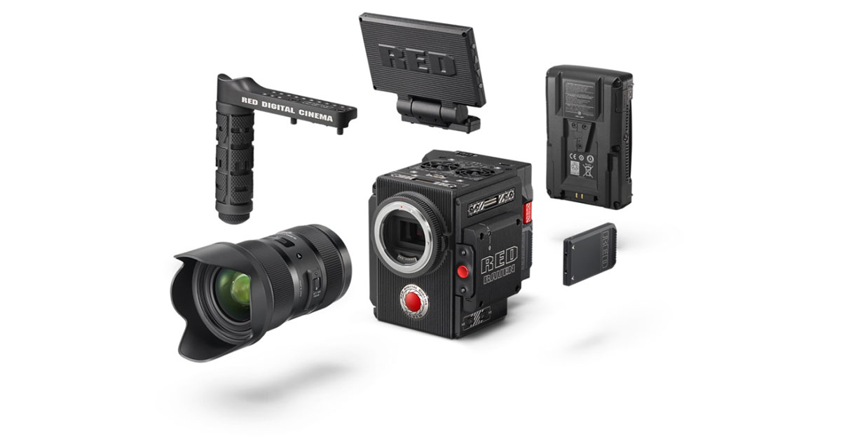 Red Raven Camera Kit at Apple Store