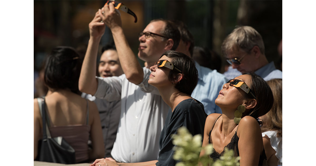 Solar eclipse glasses that meet ISO 12312-2 standards don't have an expiration date