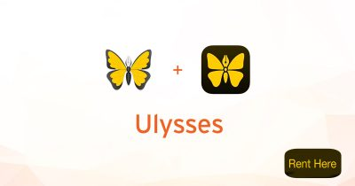 Ulysses for Mac and iOS (rent here)