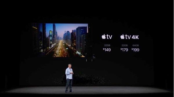 Apple TV 4K pricing kept in check.