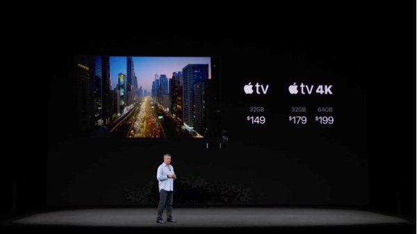 Apple TV 4K pricing kept in check.