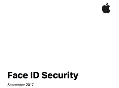Apple's new Face ID Security White Paper.
