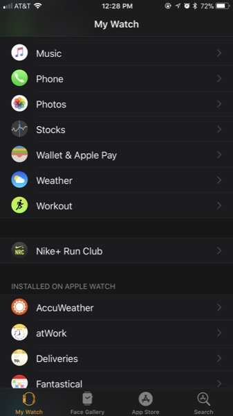 Get Your Music on Apple Watch - Step 1