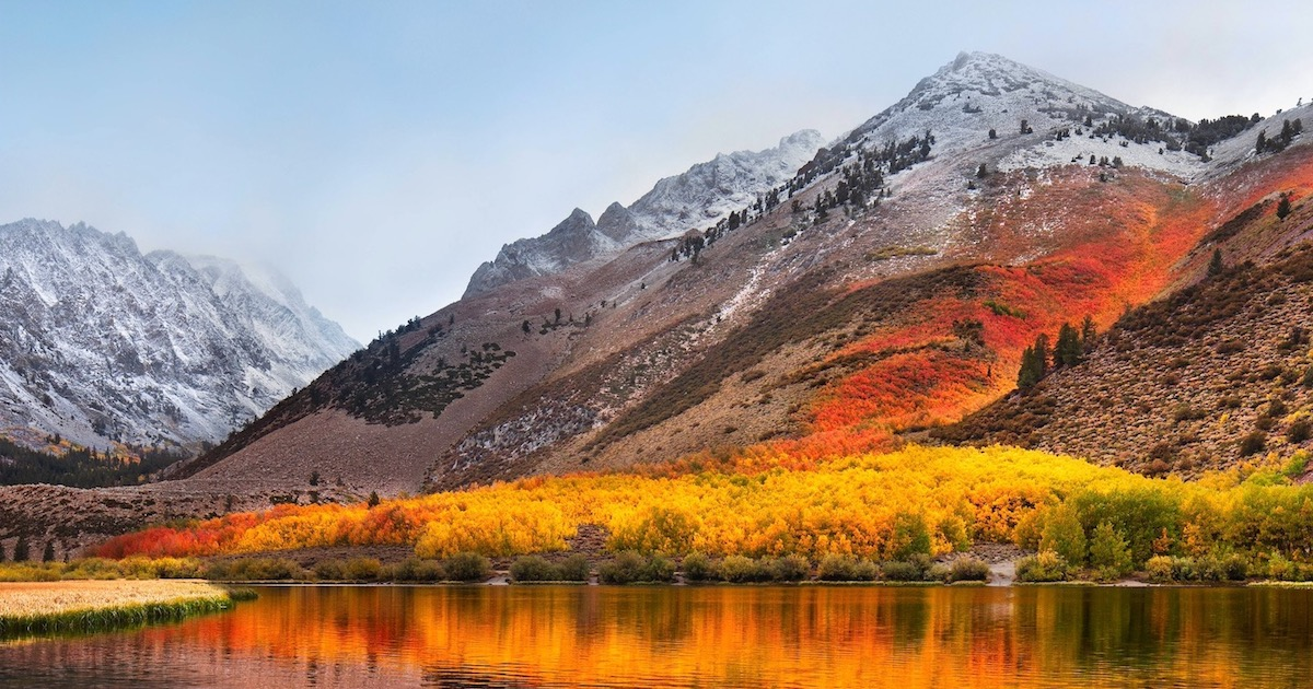 Here's a Direct Link to Download macOS High Sierra