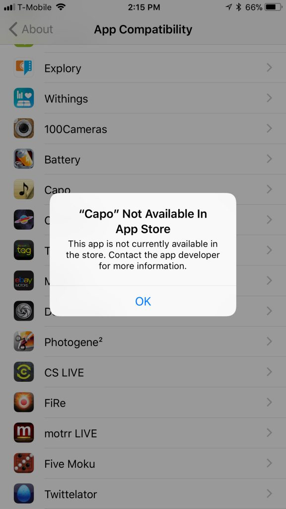 At least 50 apps on my iPhone don't work anymore...