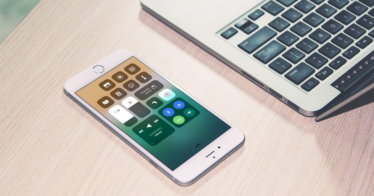 bluetooth and wi-fi settings in control center