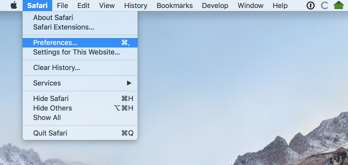 Safari Preferences let you control which websites can Auto-Play video