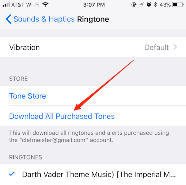 apple iphone ringtone music download