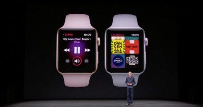new Apple Watch Series 3