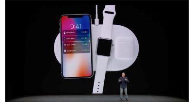 Apple AirPower wireless charging mat