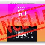Apple Music Festival series cancelled