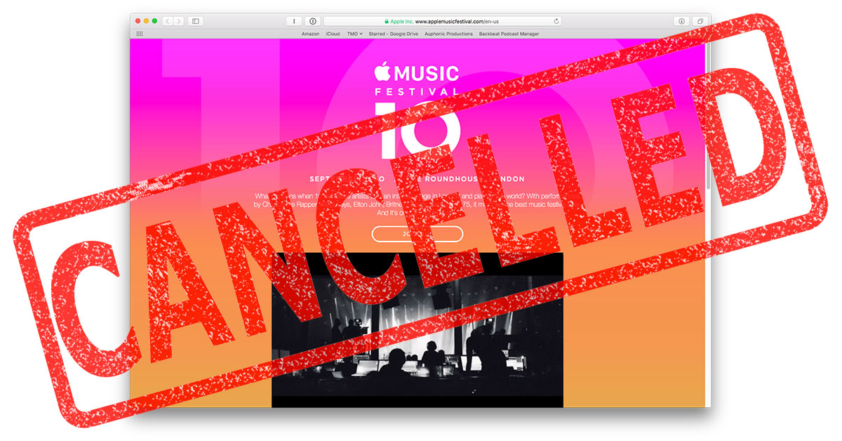 Apple cancels its London Music Festival after 10 years