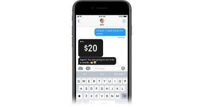 Apple Pay Cash in iOS 11 coming this fall