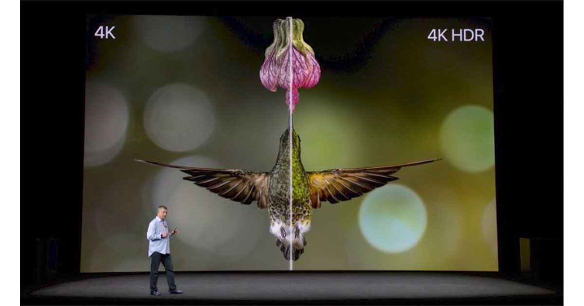 Apple introduces Apple TV 4K