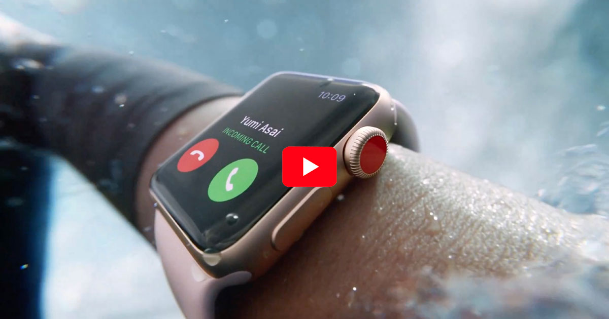 Apple Watch Series 3 Commercial Surf