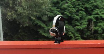 Blue Satellite Headphones