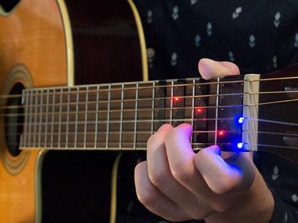 FRETX Smart Guitar Learning Device: $69.99