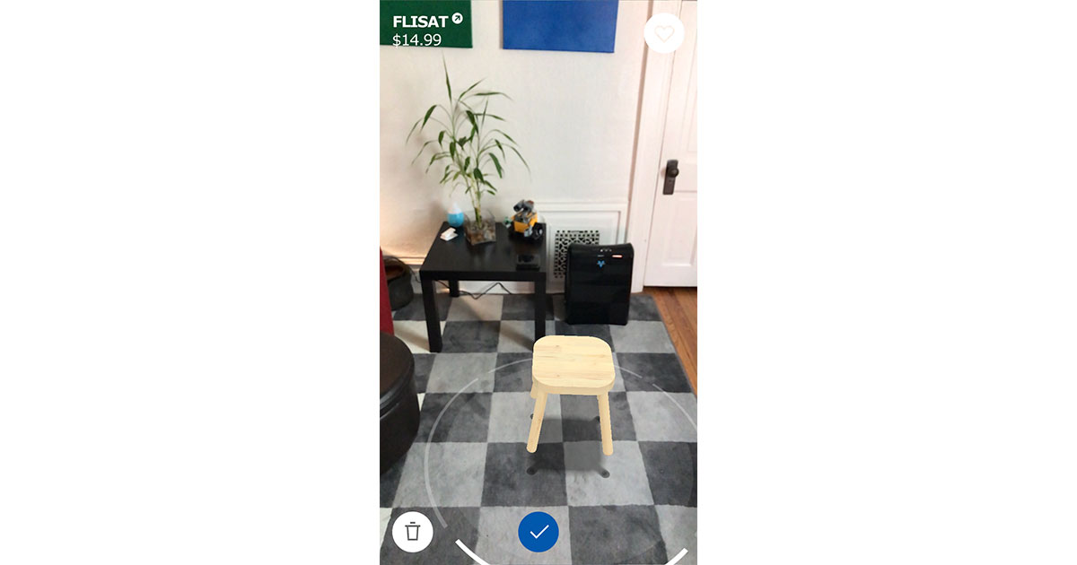 IKEA Place ARKit app for iOS 11