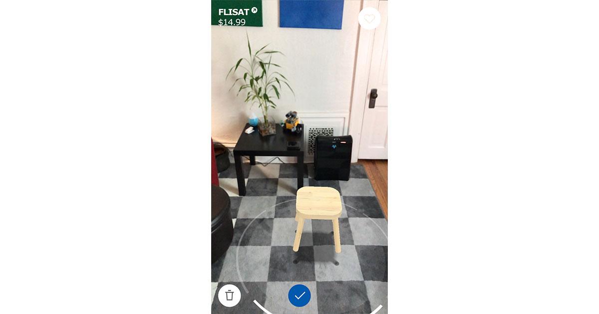 IKEA Place ARKit app for iOS 11