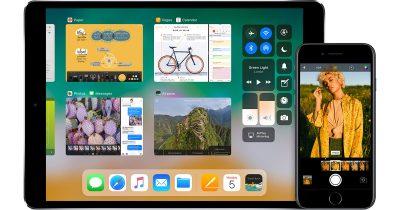 iOS 11 on iPad and iPhone