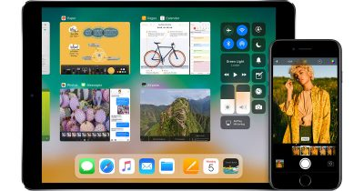 iOS 11 on iPad and iPhone