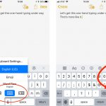 iOS 11: How to Use One Handed Keyboard with Your iPhone