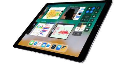iOS 11 on iPad Pro
