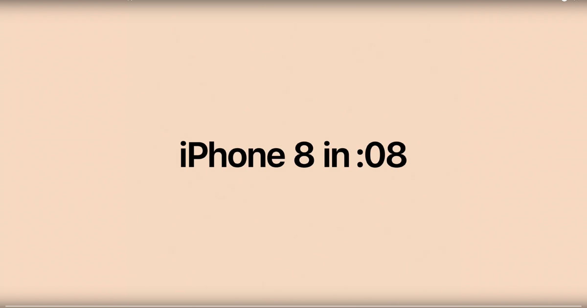 iPhone 8 and iPhone 8 Plus in 8 seconds