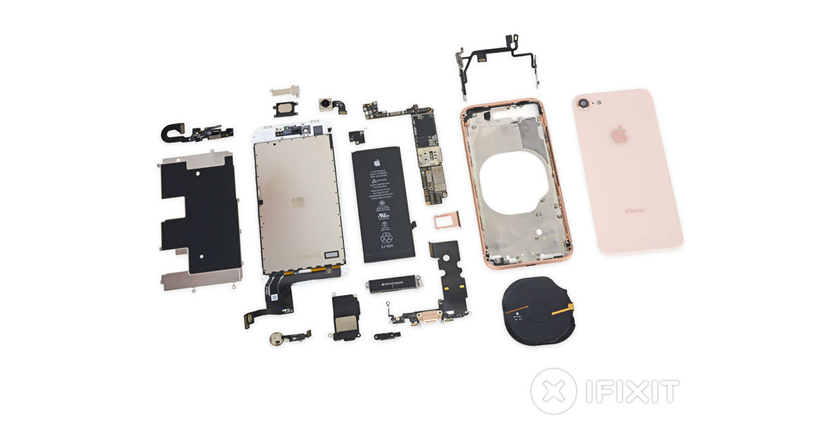 Specialists iFixit disassembled the iPhone 8