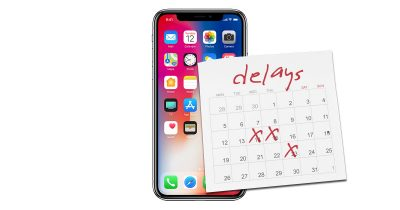 iPhone X facing production delays