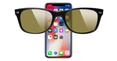 iPhone X Face ID and sunglasses