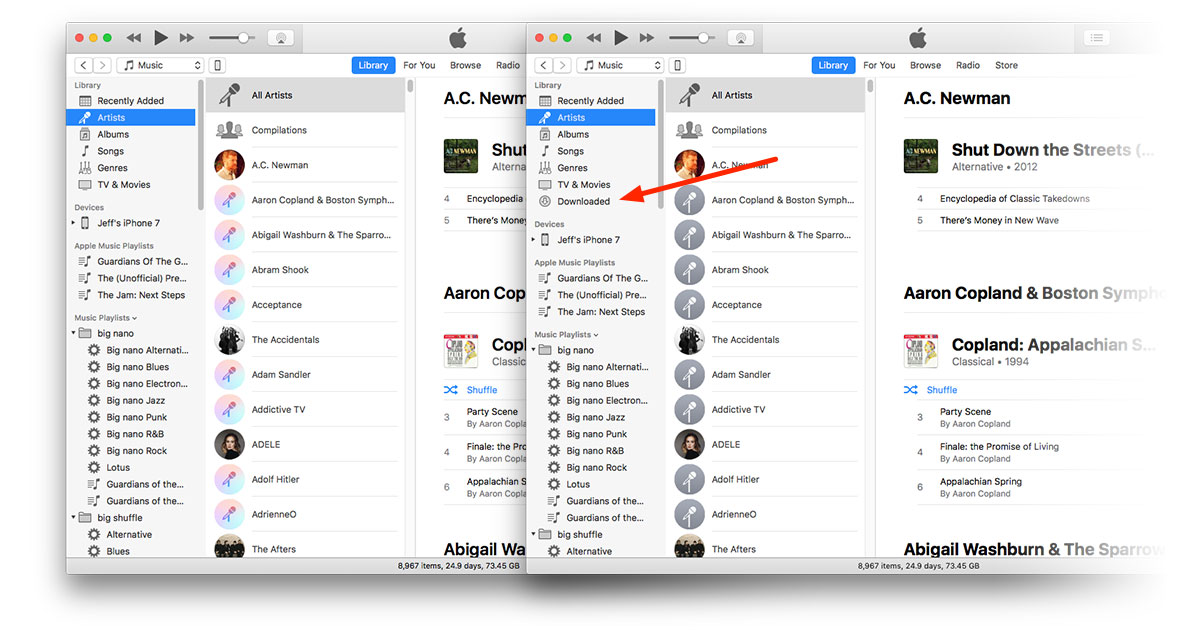 Apple Releases iTunes 12 7, Removes iOS App Backups - The
