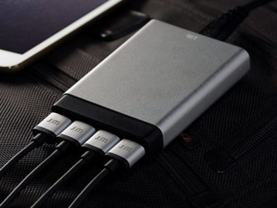 Just Mobile AluCharge Ultra Slim 4-Port Rapid USB Charger