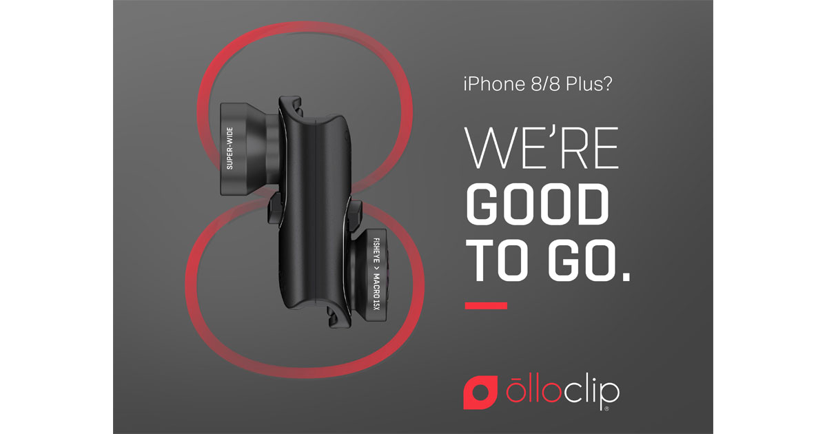 PSA: Olloclip Certifies iPhone 7/Plus Lens Kits for iPhone 8/Plus
