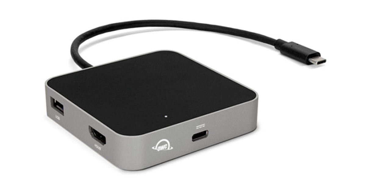 OWC Intros USB-C Travel Dock with HDMI, SD Card Reader