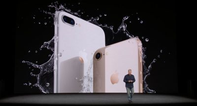 Phil Schiller announces iPhone 8 at Apple Media Event