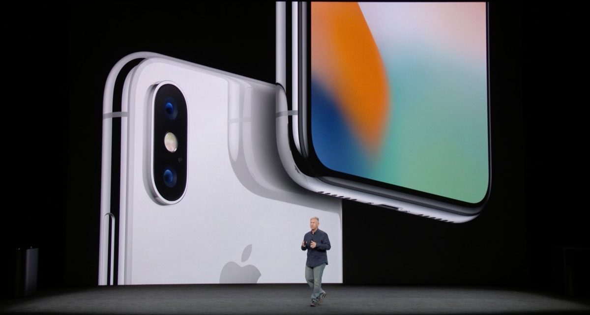 Phil Schiller and iPhone X