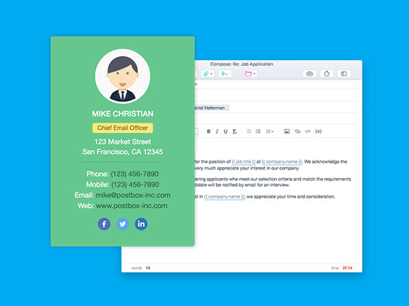 Postbox 5 for Mac or Windows: $29.99