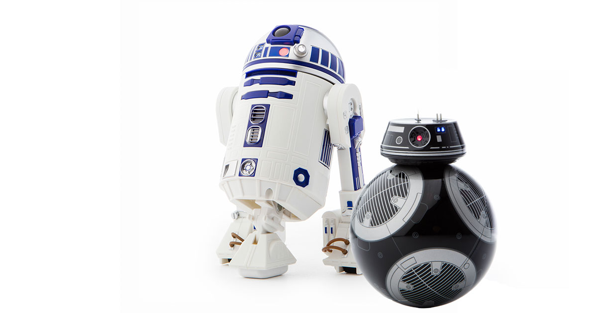 Sphero R2-D2 and BB-9E