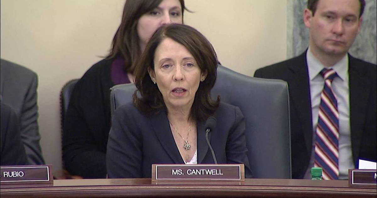 Sen. Maria Cantwell, a proponent of net neutrality