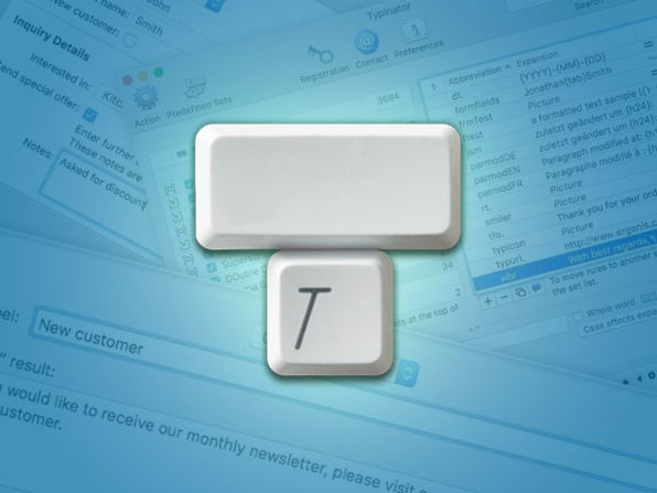 Typinator Typing Assistant for Mac: $15.99