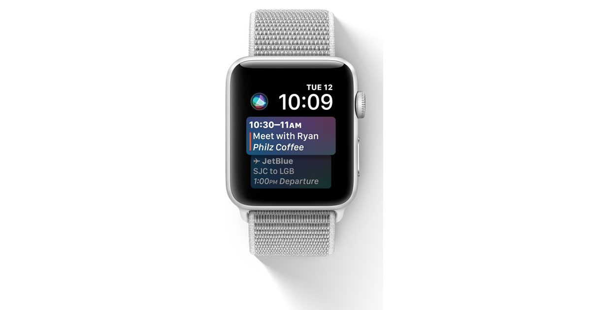 watchOS 4 on Apple Watch