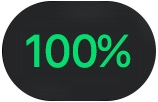 watchOS 4 Control Center battery charge