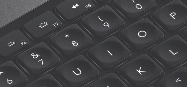 CRAFT Keyboard closeup.