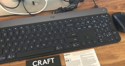 Logitech CRAFT keyboard.