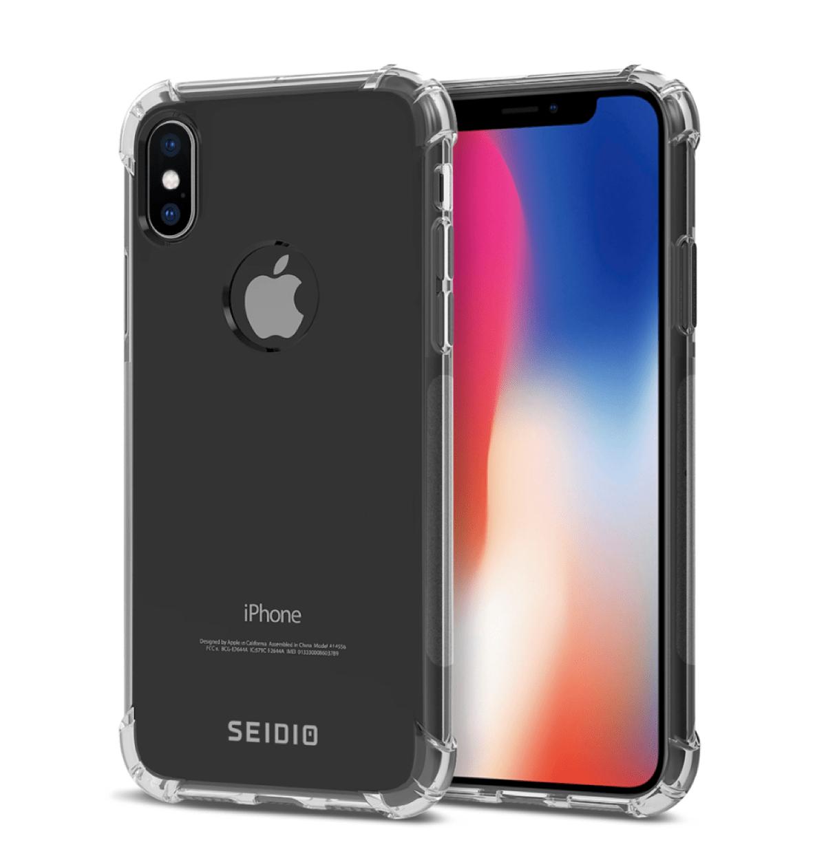 Clear iPhone X Cases seidio optik.